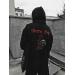 Худи Louchesaints 'Death Tour' Oversize